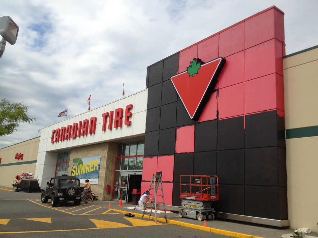 Canadian Tire Abbotsford Paint