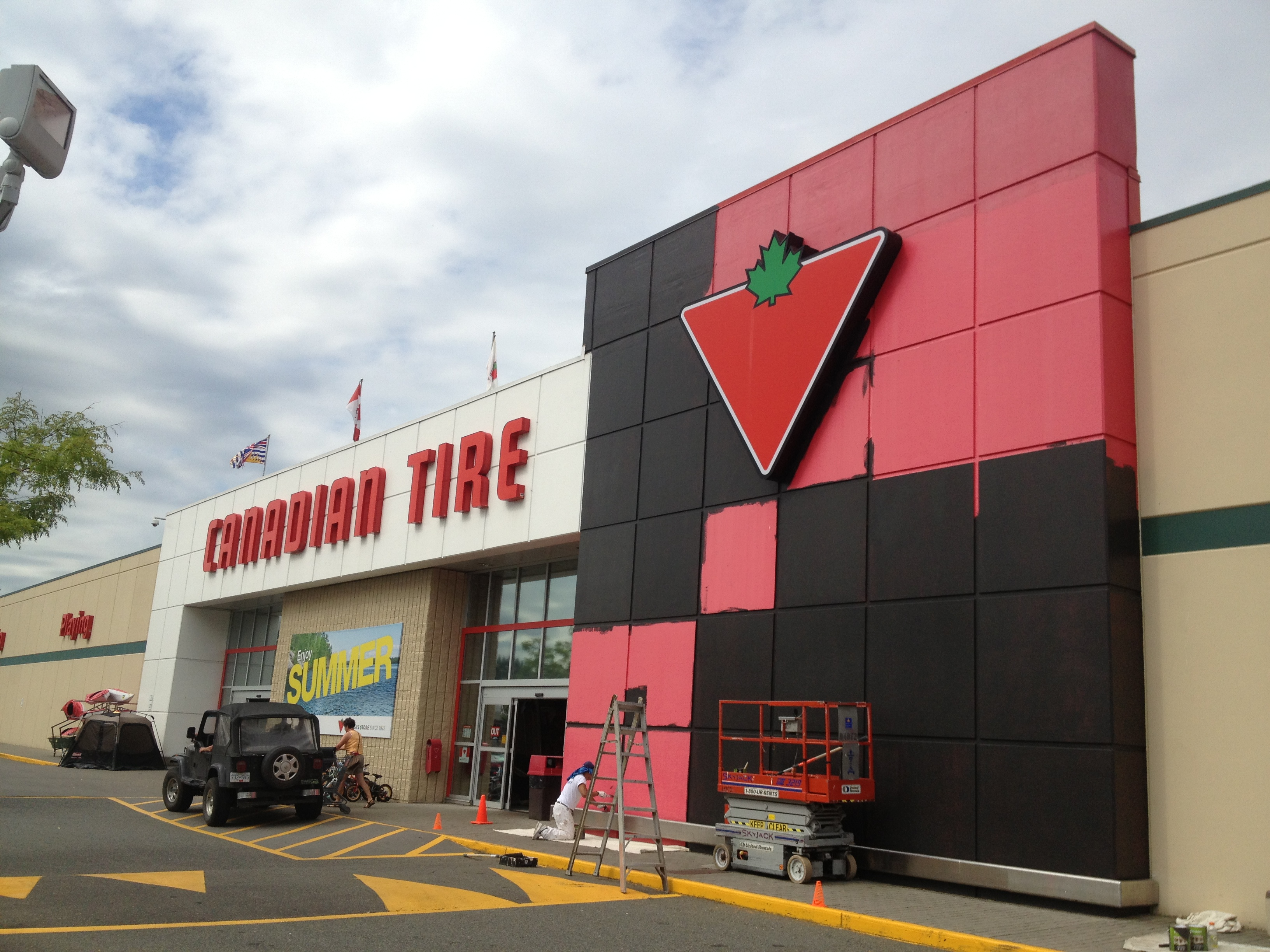 Canadian Tire Almost Done