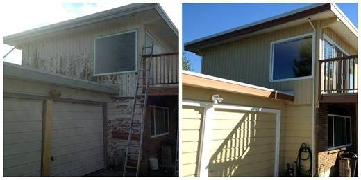 Maple Ridge Before and After Exterior
